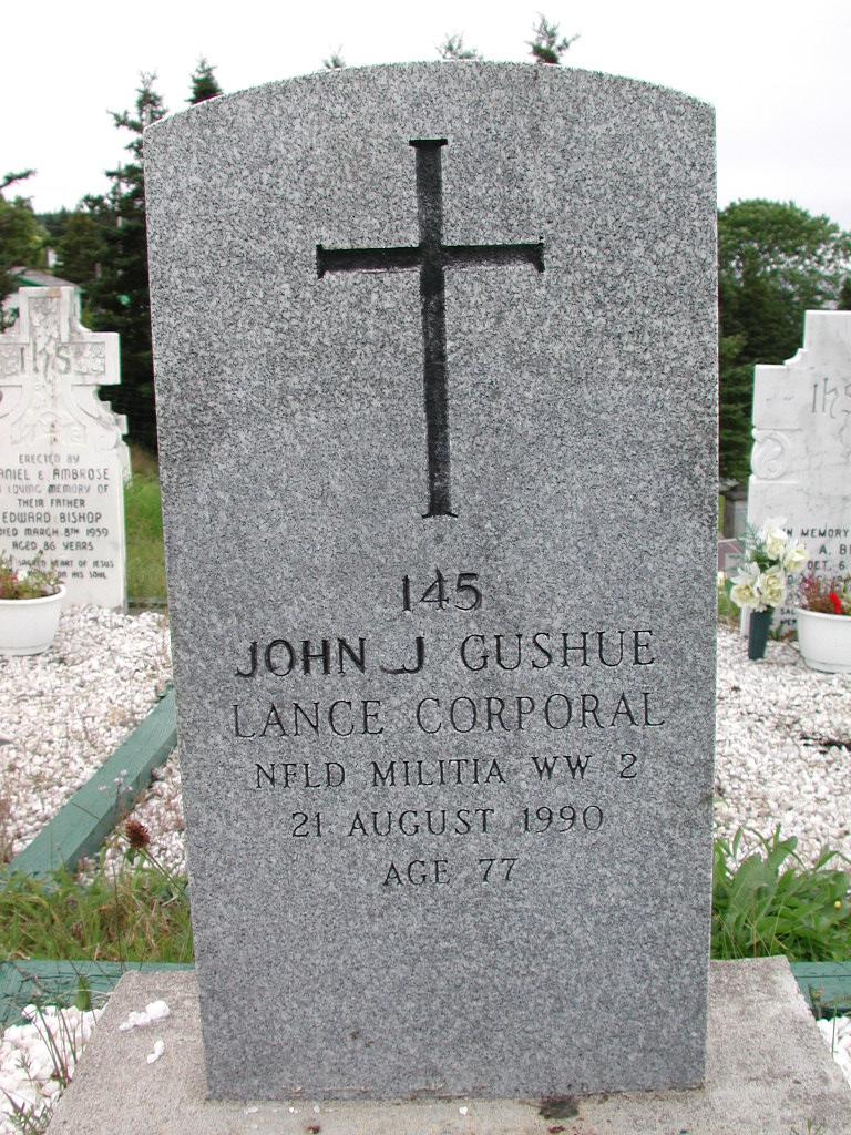 GUSHUE, John J (1990) SJP01-1703