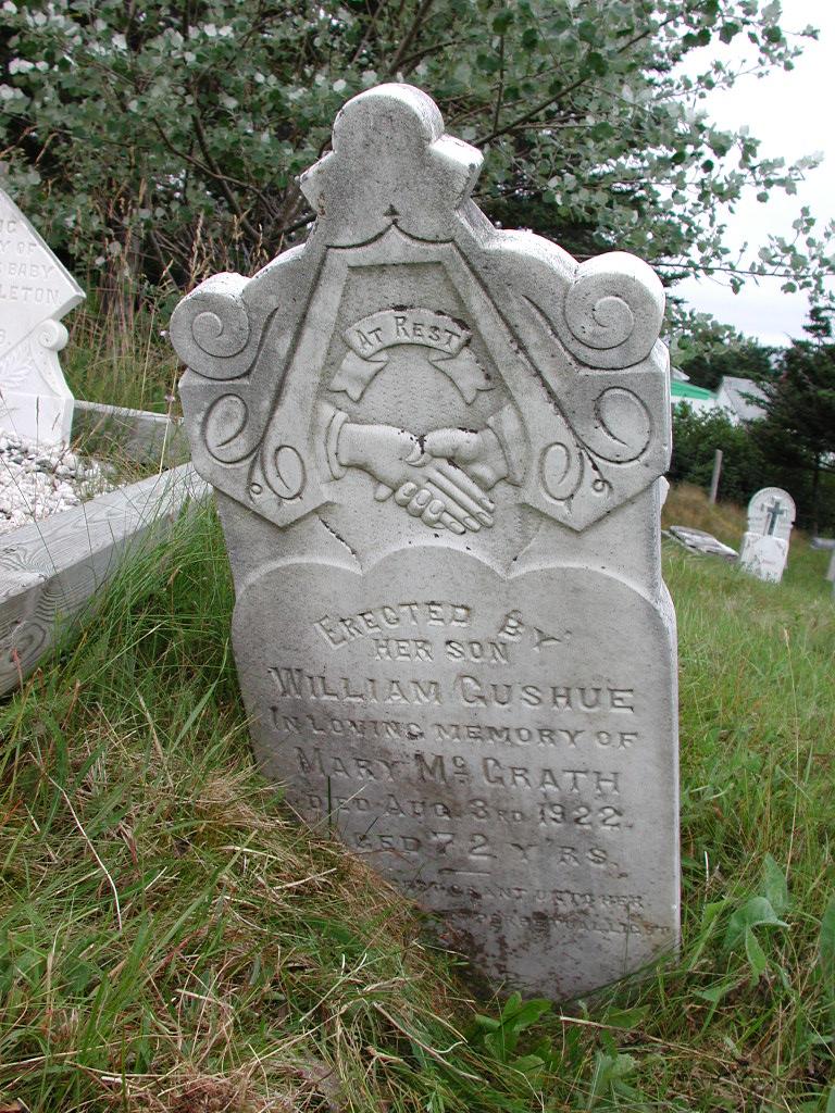 GUSHUE, Mary McGrath (1922) SJP01-1688