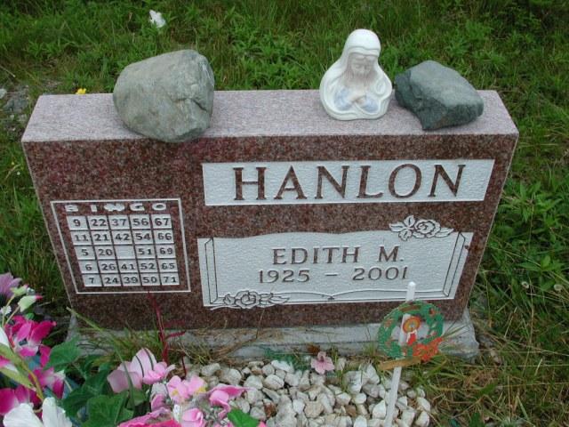HANLON, Edith M (2001) ODN02-7753