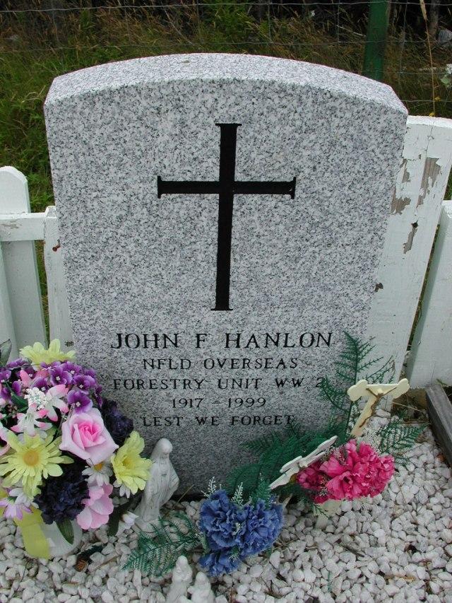 HANLON, John F (1999) ODN02-7754