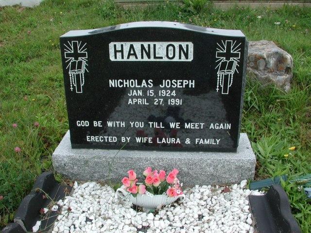 HANLON, Nicholas Joseph (1991) ODN02-2013
