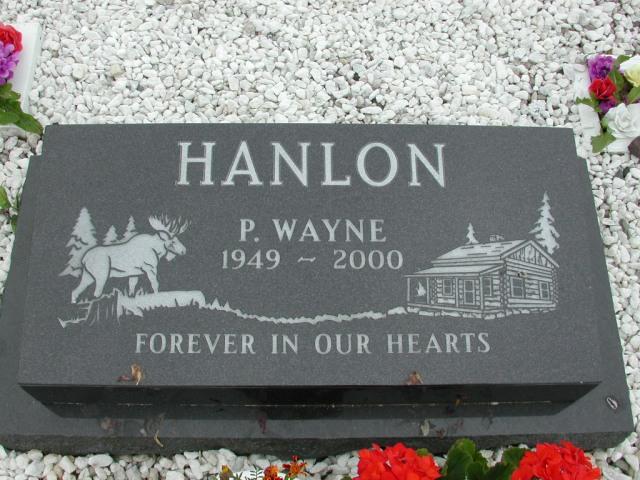 HANLON, P Wayne (2000) ODN02-7793