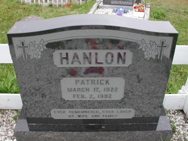 HANLON, Patrick (1992) ODN02-7791