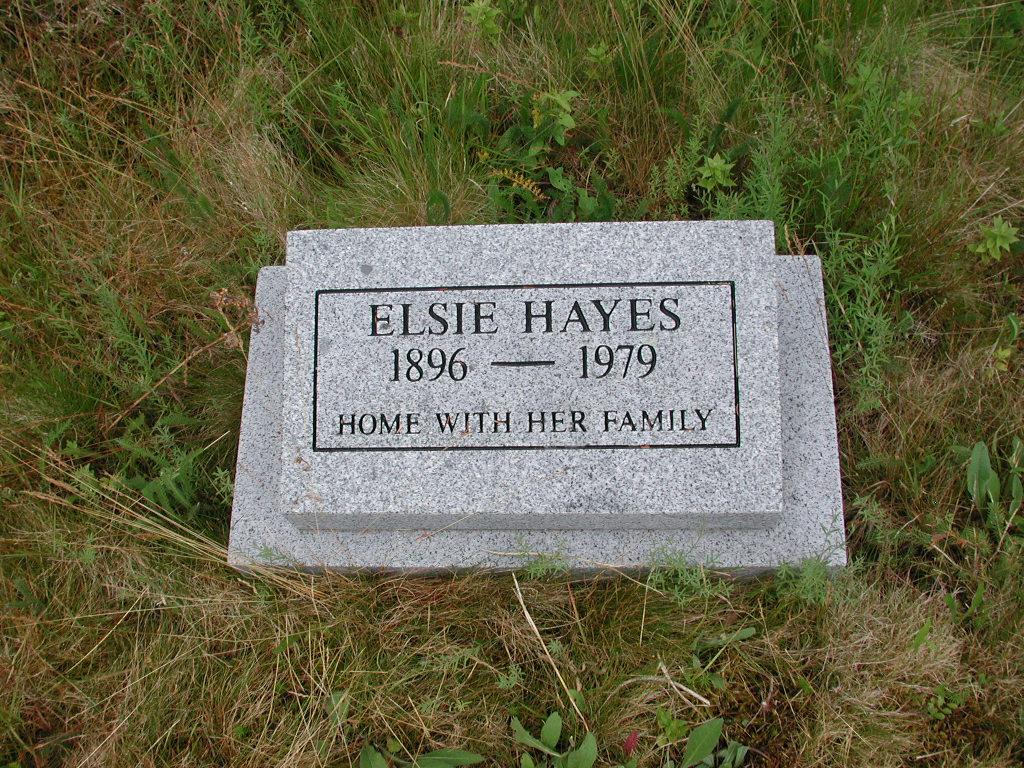 HAYES, Elsie (1979) SJP01-1786