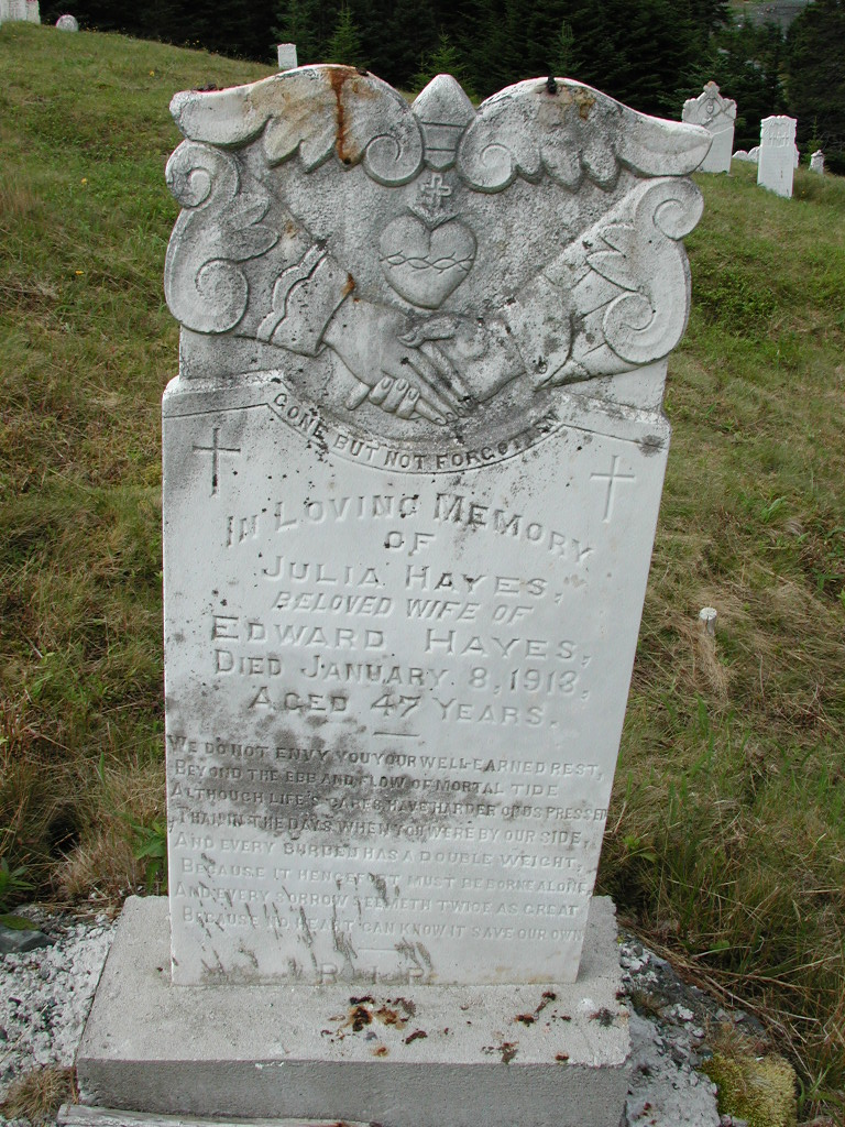 HAYES, Julia (1913) SJP01-7652