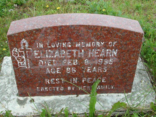 HEARN, Elizabeth (1995) ODN02-7798