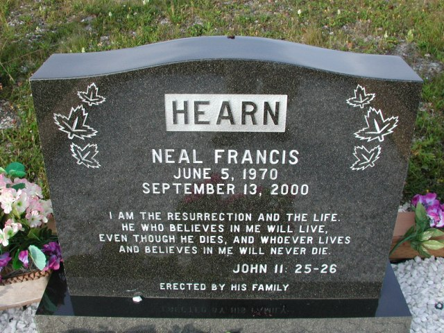 HEARN, Neal Francis (2000) STM03-9498