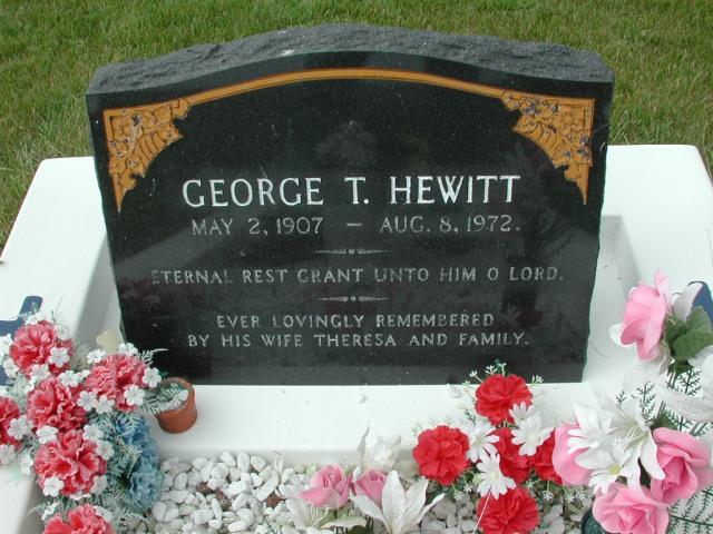 HEWITT, George T (1972) SSH01-3325