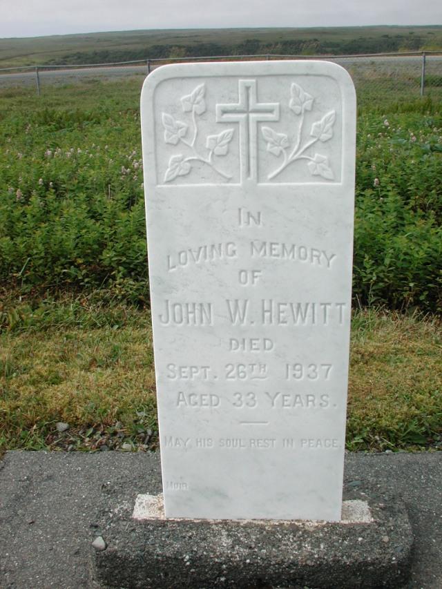 HEWITT, John W (1937) SSH01-3279