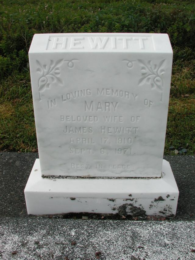 HEWITT, Mary (1971) SSH01-3280