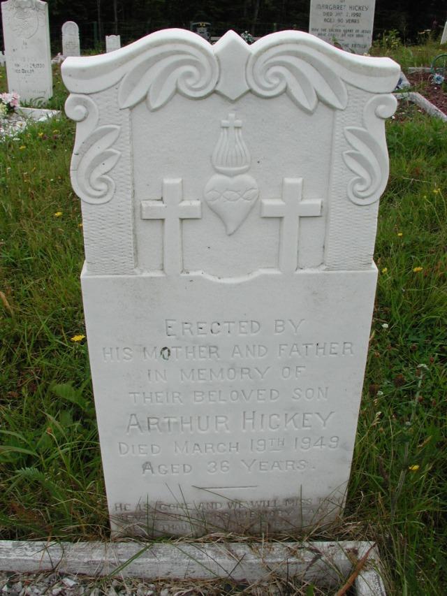 HICKEY, Arthur (1949) ODN02-7812