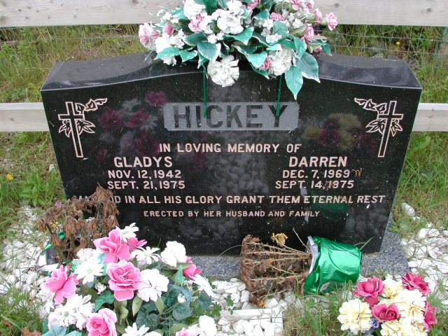HICKEY, Gladys (1975) & Darren (1975) ODN02-7748