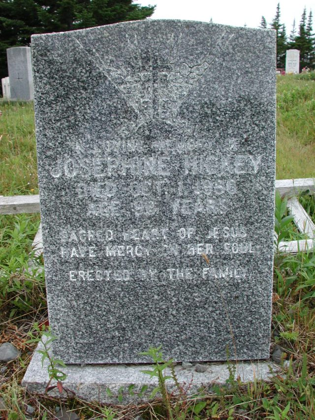 HICKEY, Josephine (1986) ODN02-2015