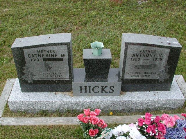 HICKS, Anthony V (1996) & Catherine M SSH01-9000