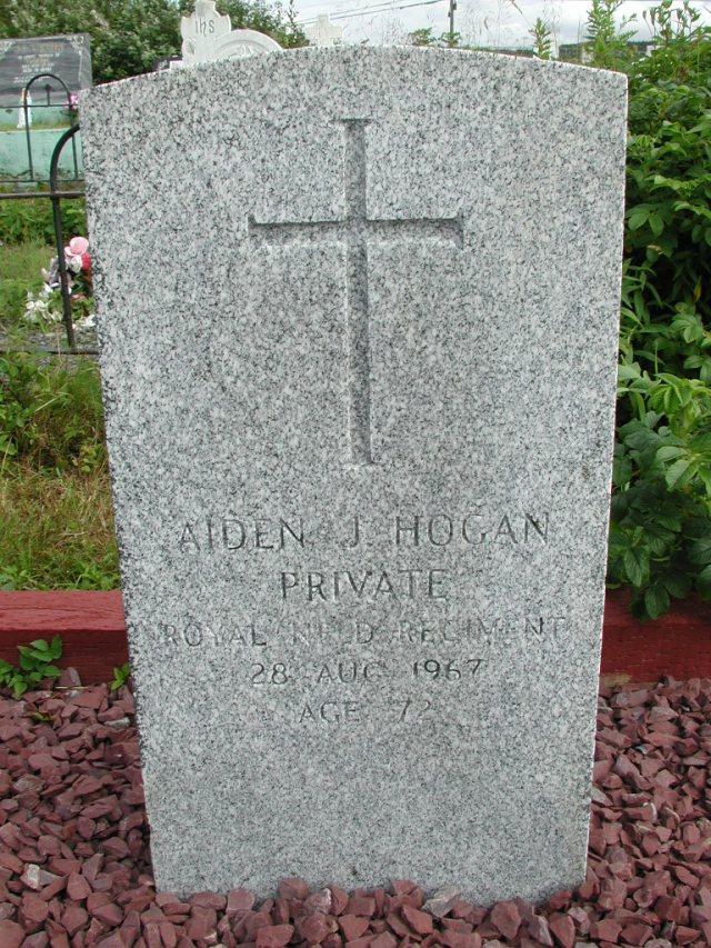 HOGAN, Aiden J (1967) STM01-8318