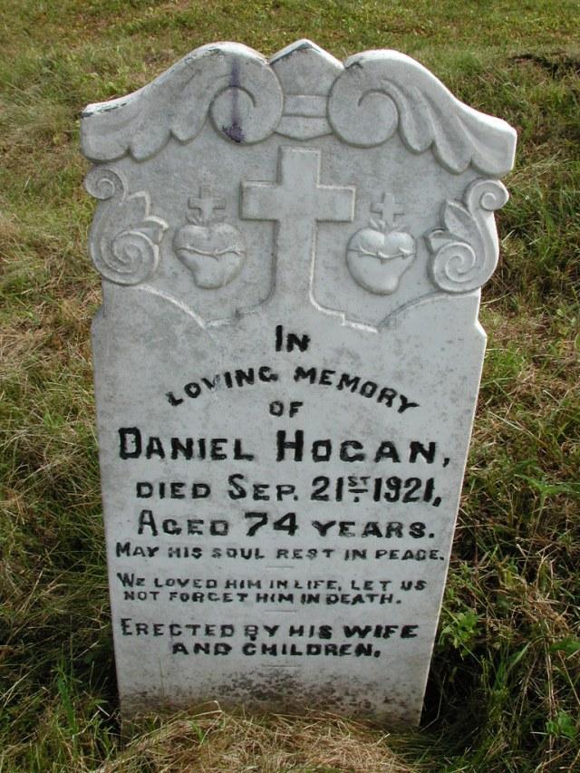 HOGAN, Daniel (1921) STM01-8209