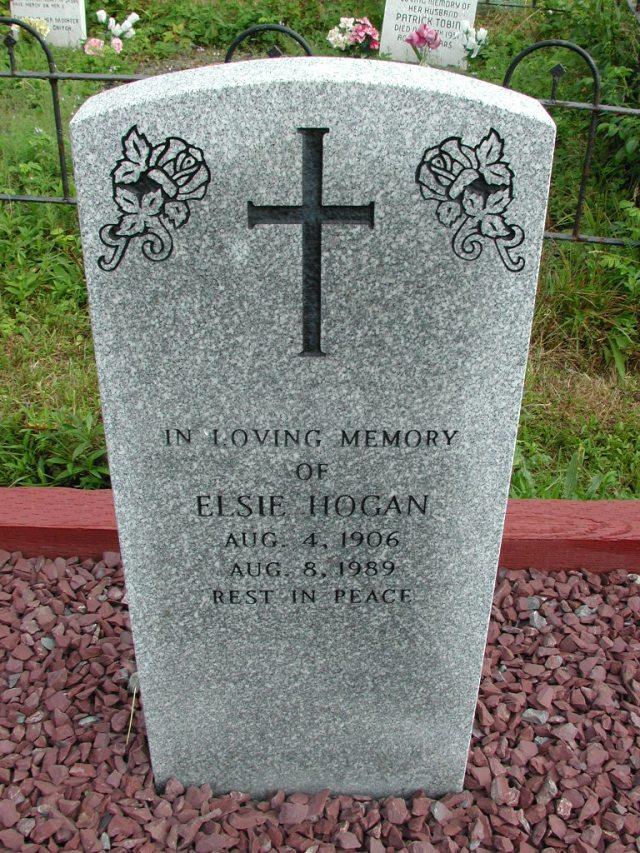 HOGAN, Elsie (1989) STM01-8317