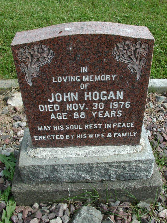 HOGAN, John (1976) STM01-8262