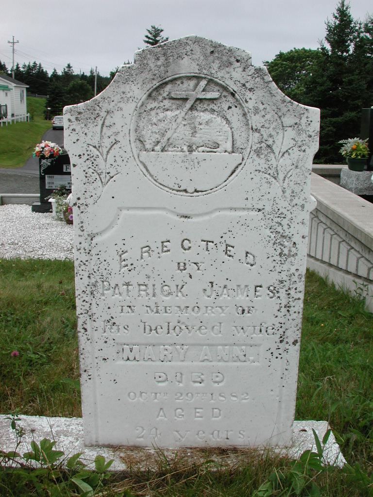JAMES, Mary Ann (1882) SJP01-1863