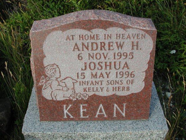 KEAN, Andrew H (1995) & Joshua (1996) STM03-9480