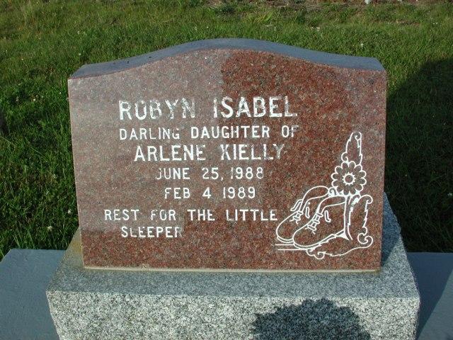 KIELLY, Robyn Isabel (1989) STM03-3682