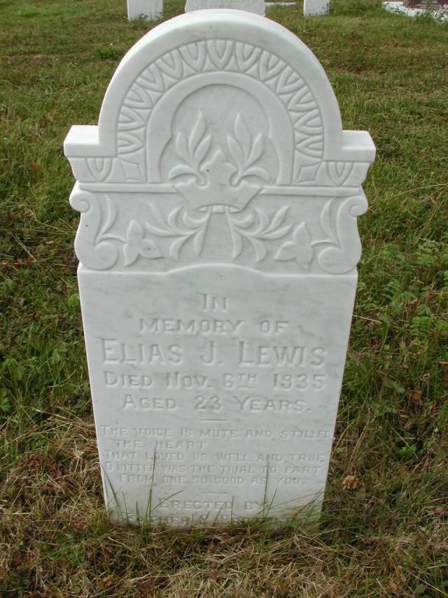 LEWIS, Elias J (1935) SSH01-9040