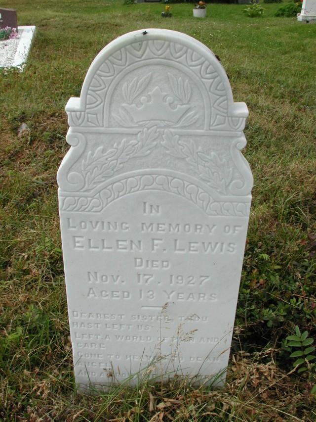 LEWIS, Ellen F (1927) SSH01-9029