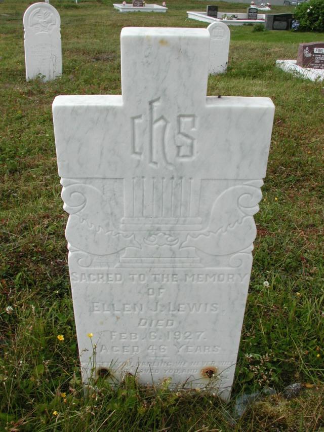 LEWIS, Ellen J (1927) SSH01-9031
