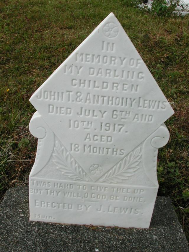 LEWIS, John T (1917) & Anthony (1917) SSH01-9030