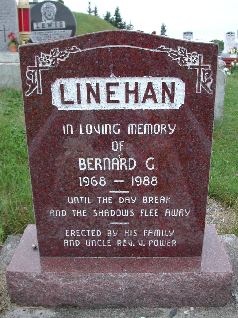 LINEHAN, Bernard G (1988) SJP01-7430