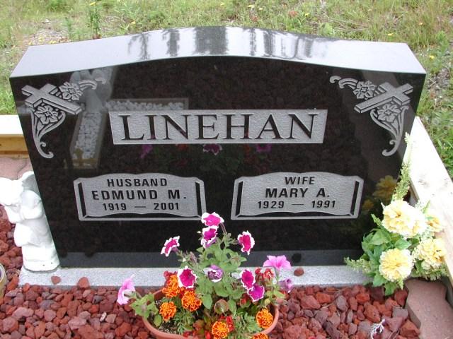 LINEHAN, Edmund M (2001) & Mary A (1991) ODN02-7775