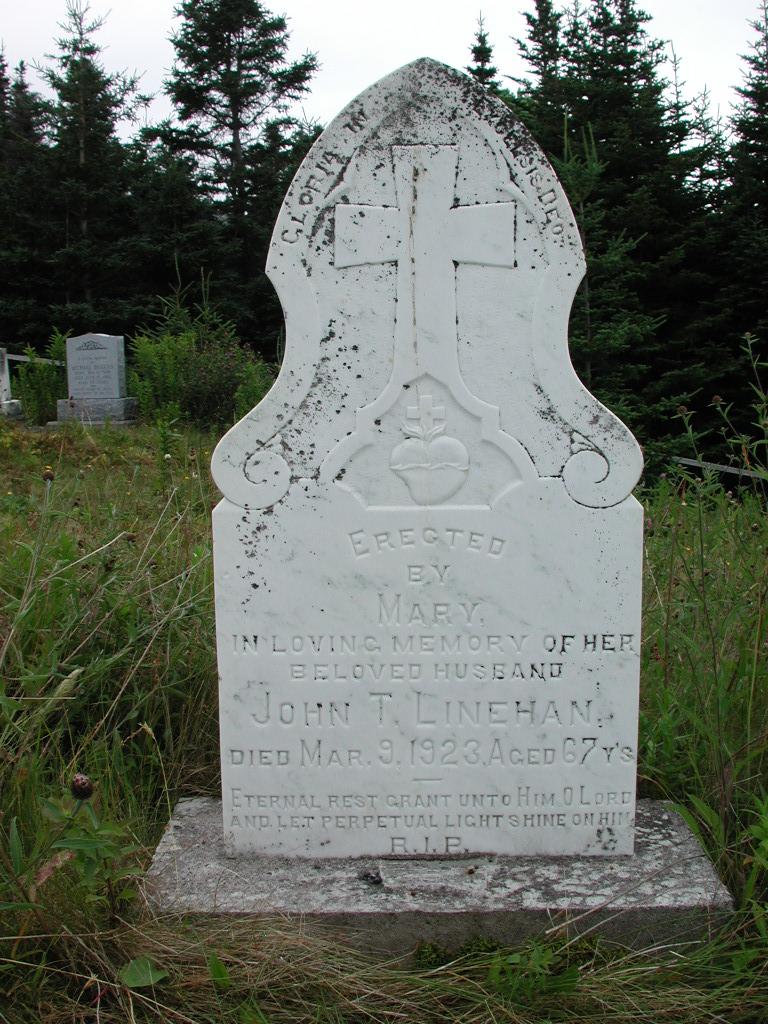 LINEHAN, John T (1923) SJP01-1839