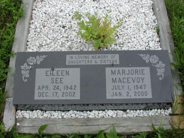 MACEVOY, Marjorie (2000) & Eileen See (2002) ODN02-7788