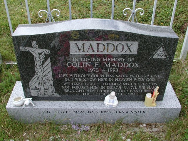 MADDOX, Colin F (1993) BRA01-3230