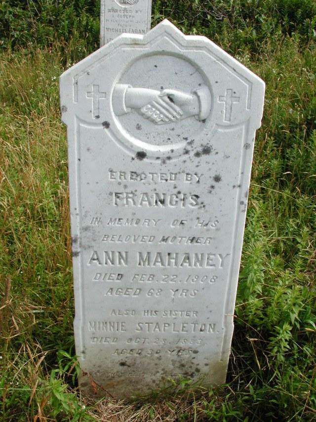 MAHANEY, Ann (1908) & Minnie Stapleton STM01-8198