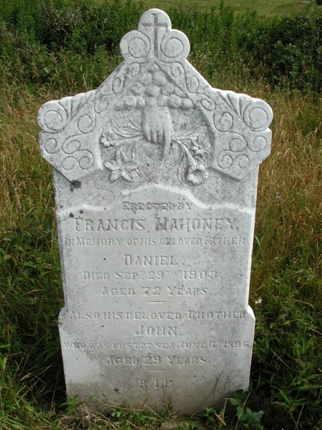 MAHONEY, Daniel (1903) & John (1896) STM01-8197