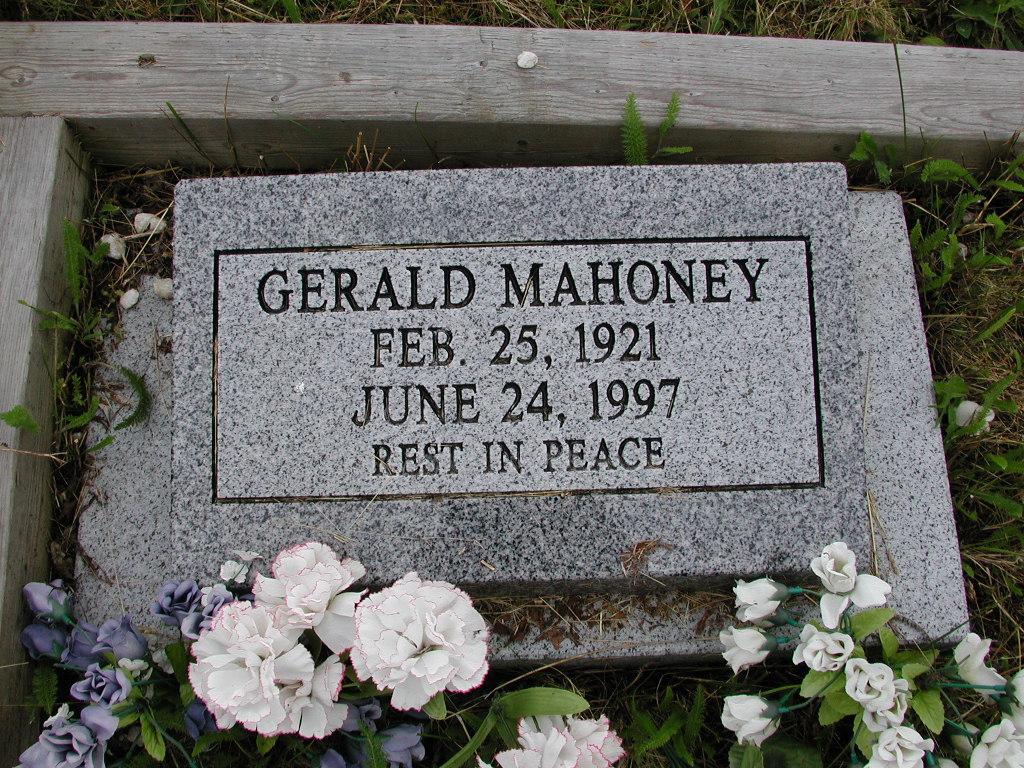 MAHONEY, Gerald (1997) SJP01-7438