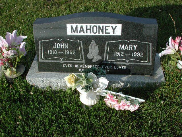 MAHONEY, John (1992) & Mary (1992) STM03-3661