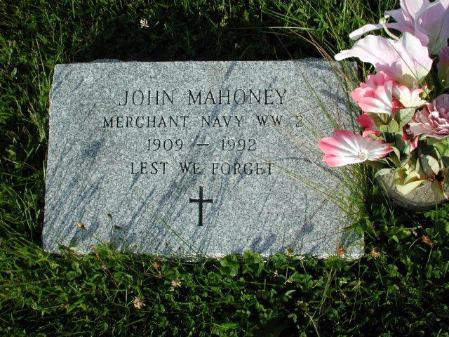 MAHONEY, John (1992) STM03-3660