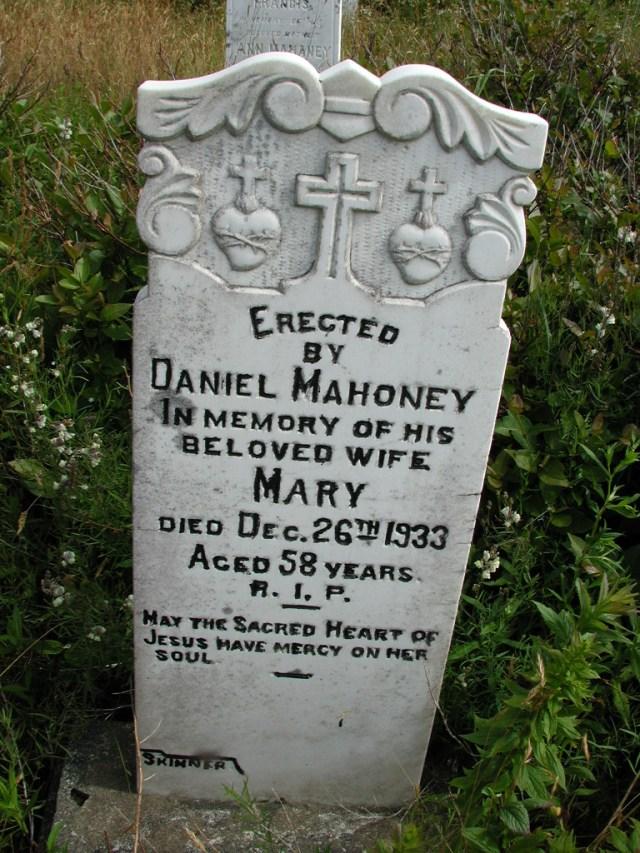 MAHONEY, Mary (1933) STM01-8196