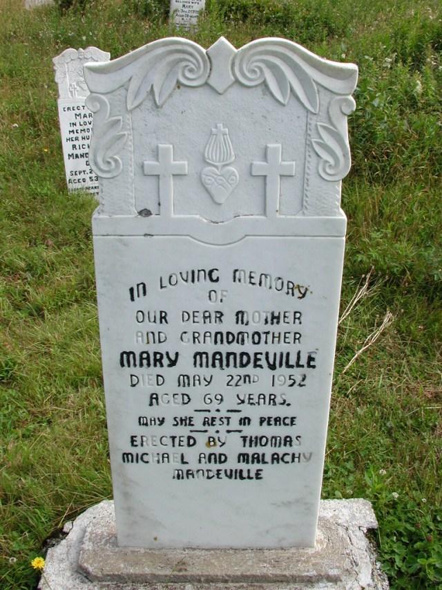 MANDEVILLE, Mary (1952) STM01-8169