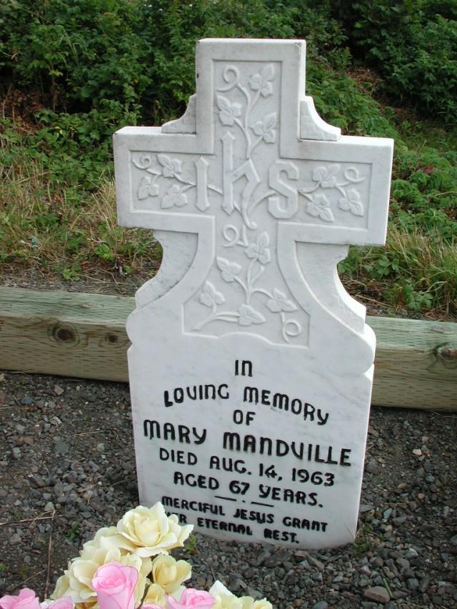 MANDVILLE, Mary (1963) STM01-2487