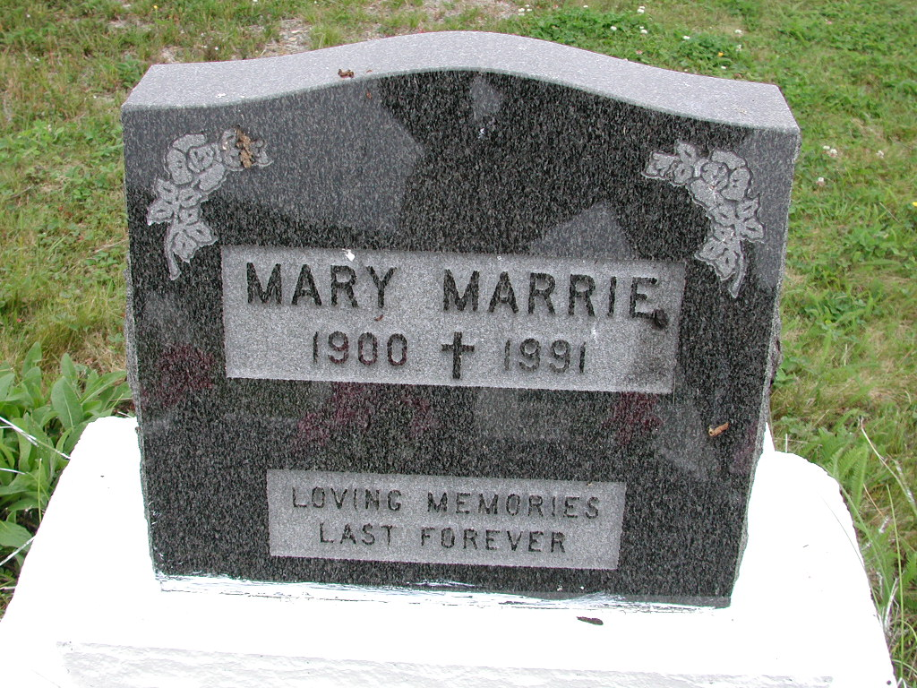 MARRIE, Mary (1991) SJP01-7522