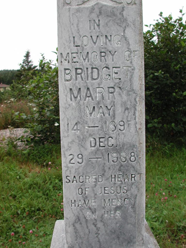 MARRY, Bridget (1968) MCM01-1456