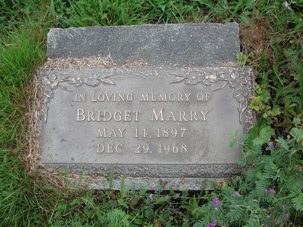 MARRY, Bridget (1968) MCM01-1457