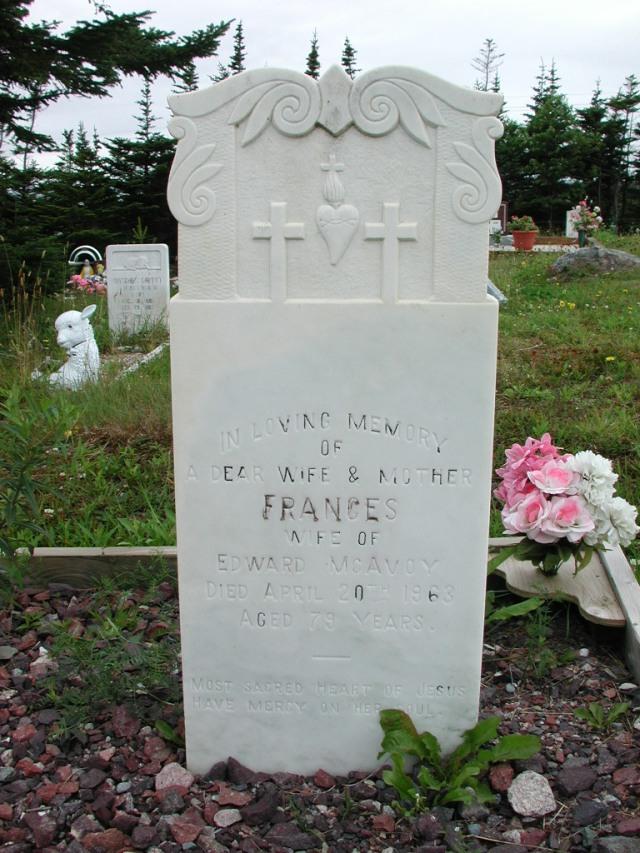 MCAVOY, Frances (1963) ODN02-2028