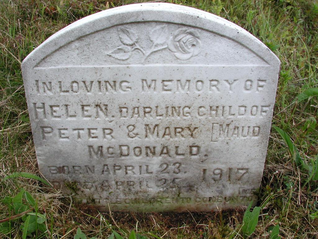 MCDONALD, Helen (1917) SJP01-7494