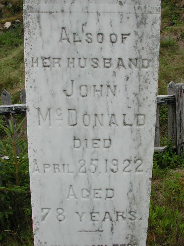 MCDONALD, John (1922) SJP01-7636