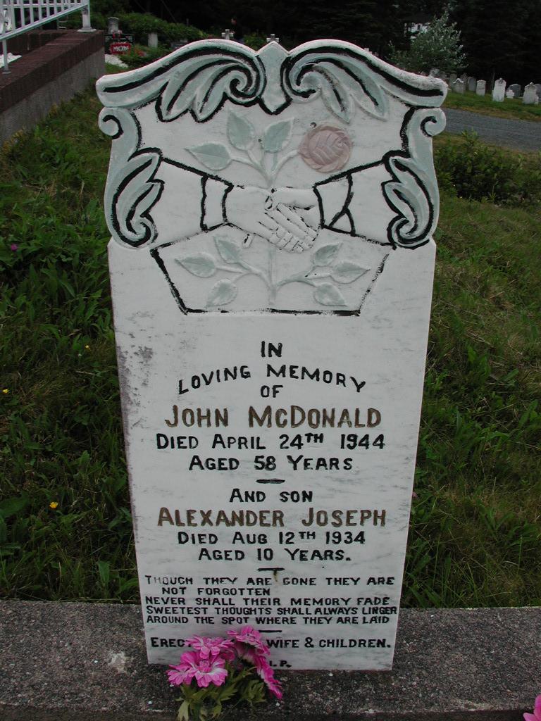 MCDONALD, John (1944) & Alexander (1934) SJP01-7388