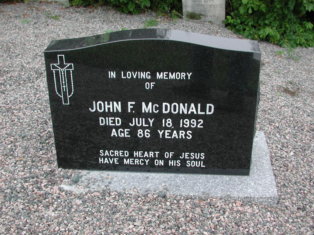 MCDONALD, John F (1992) SJP01-1680